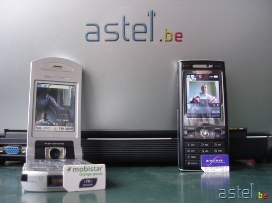 Astel.be - Visiophonie entre Mobistar et Proximus