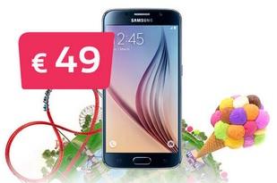 2016 11 Proximus promo Samsung S6 a 49 euro