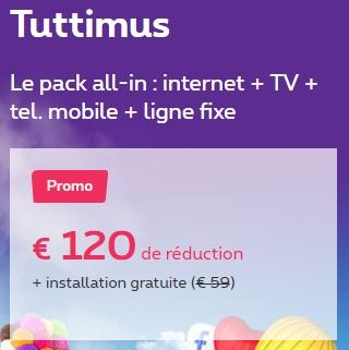 Telenet internet et tv