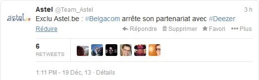 Belgacom Deezer