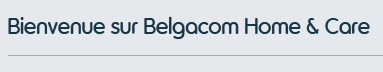 Belgacom Home Care
