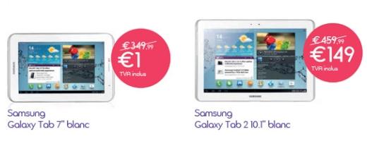 Belgacom Tablette 1 euro