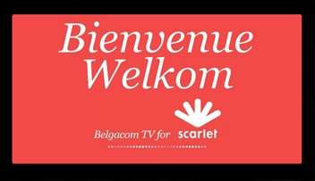 Belgacom tv for Scarlet 2