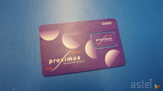Carte SIM Proximus  2