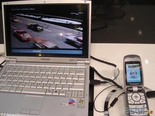 Un prototype streamant de la vidéo à du 3,6 Mbps - 44.3ko