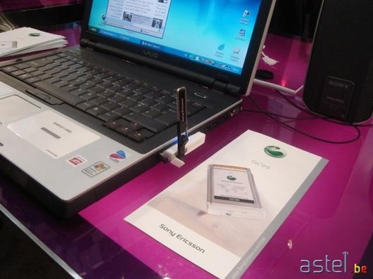 La PC Card GC-99 compatible GPRS, EDGE, UMTS et Wi-Fi - 37.5ko