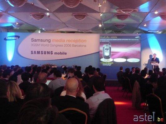 La conférence de presse internationale de Samsung à Barcelone - 37.4ko
