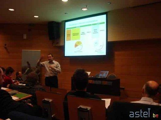 Erick Cuvelier, le responsable du marketing de Mobistar - 13.7ko