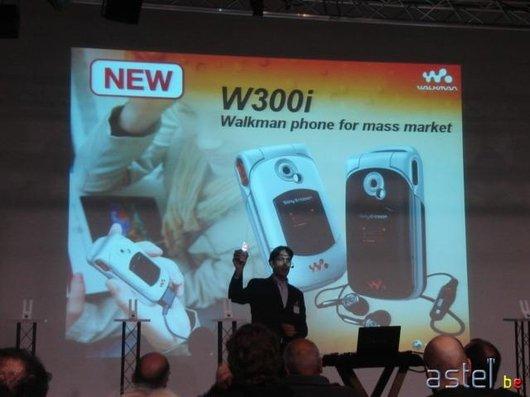 L'annonce du W300i - 33.8ko
