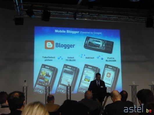 L'annonce du Mobile Blogging des K790i/K800i - 32.3ko