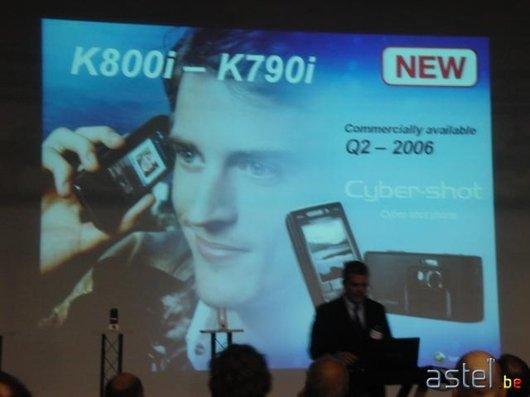 L'annonce des K790i/K800i - 26.7ko
