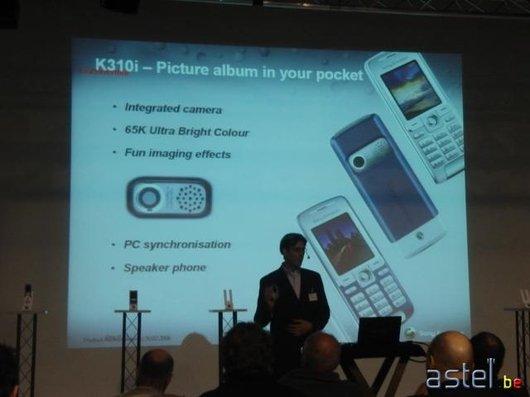L'annonce du K310i - 28.4ko
