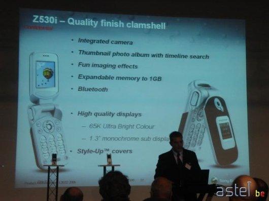 L'annonce du Z530i - 28ko