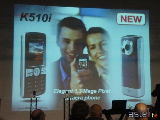 L'annonce du K510i - 30.9ko
