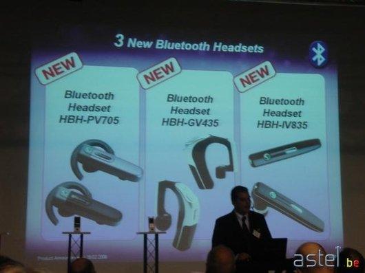 L'annonce des trois nouvelles oreillettes Bluetooth - 29.4ko