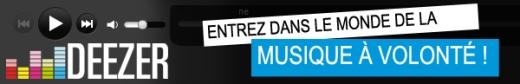Deezer banner fr