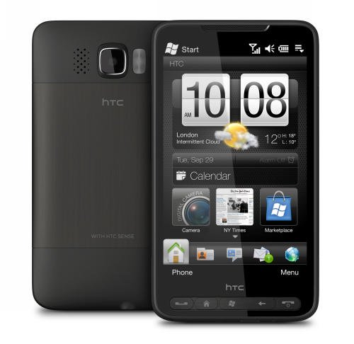 HTC HD2 Front   Back 1002