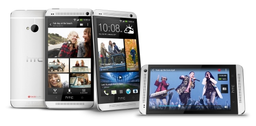 HTC One stunning silver1