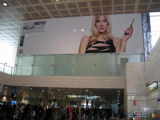 Motorola domine le terminal de l'aéroport de Barcelone - 46.9ko