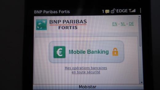 Mobile Banking Fortis