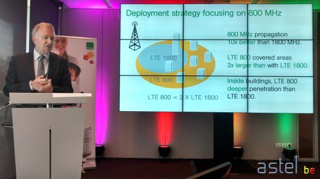 Mobistar 4G Bruxelles 800 MHz