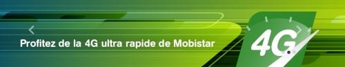 Mobistar 4G banner site web