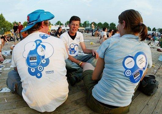 Nokia Drie deelnemers in overview pt