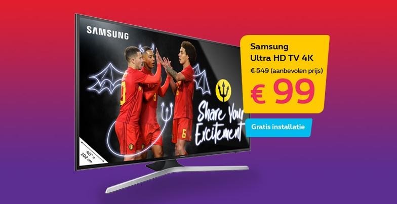 Proximus Samsung Tv