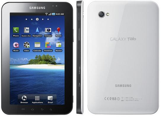 Samsung P1000 Galaxy Tab pictures 1 2