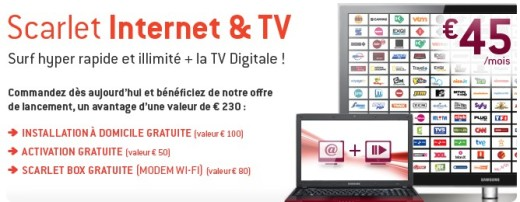 Scarlet Internet TV 520