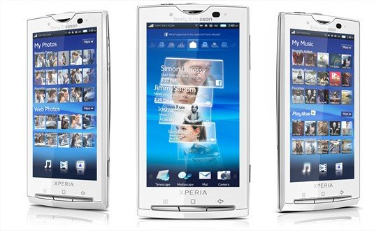 Sony Ericsson Products Mobile phones Overview Xperia X10 Mozilla Firefox