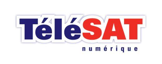 TeleSAT Logo art