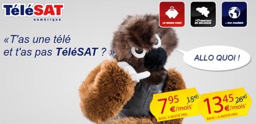 TeleSAT Promo juillet 2013