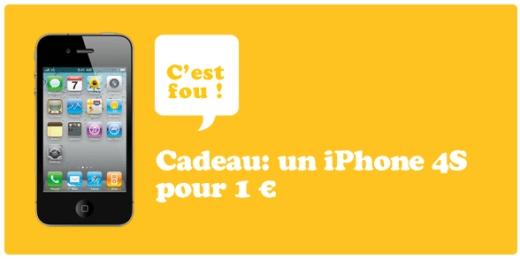 Iphone 1 euro telenet