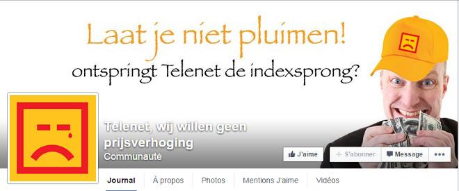 Telenet Facebook