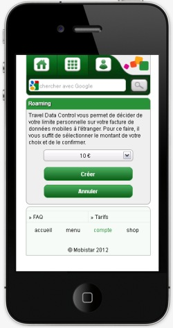 Travel Data Control FR 1