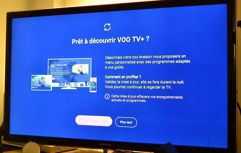 VOO TV plus Pret a decouvrir TV plus 1