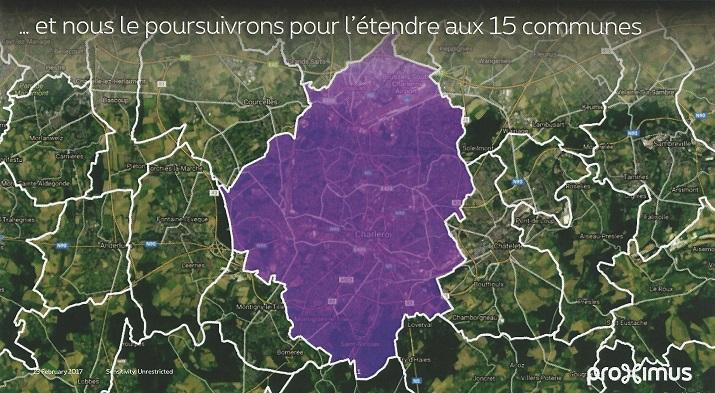 Carte 15 communes