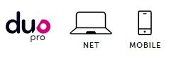 Duo pro net mobile