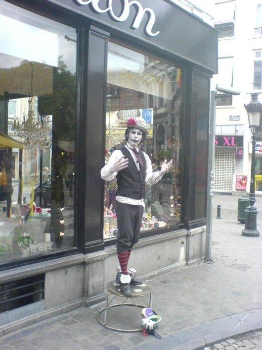 K750i test clown
