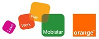 Logo mobistar orange pt
