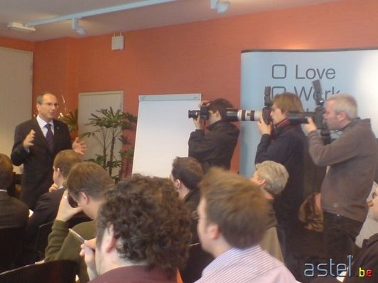 Mobistar conference presse bernard moscheni