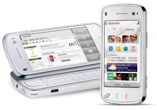 Nokia n97 white 2