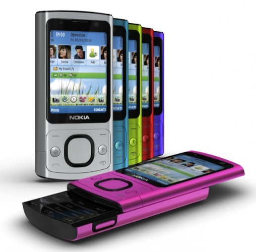 Nokia 6700 slide mobile phone