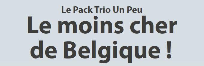 le saviez voo le pack trio un peu est le moins cher de belgique tv internet. Black Bedroom Furniture Sets. Home Design Ideas