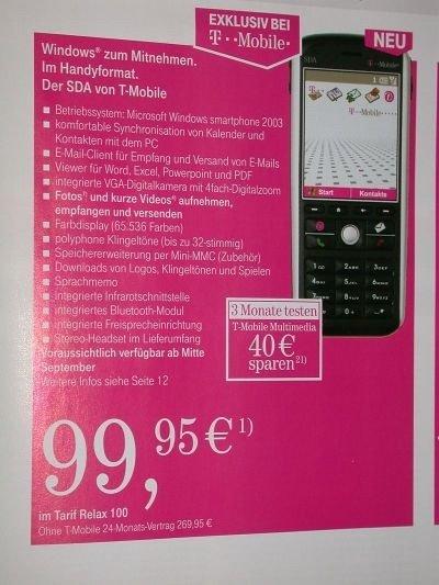 T mobile sda