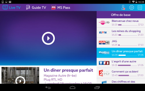 Tvpartout android