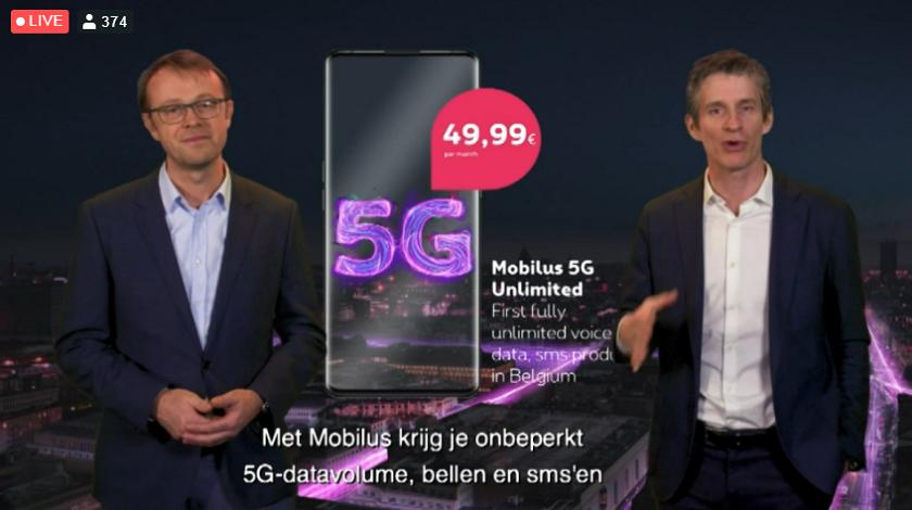 2020 03 31 CP Proximus Mobilus 5G Unlimited 840
