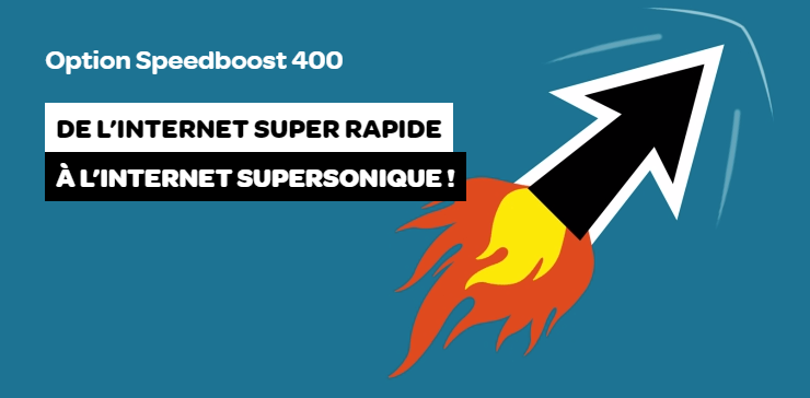 Telenet Speedboost 400 FR