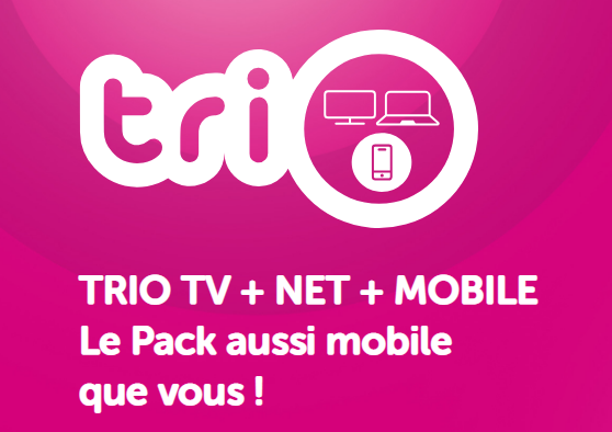 VOO abonnement trio tv internet gsm